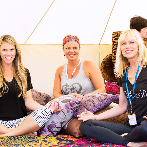 The Mediation Tent.