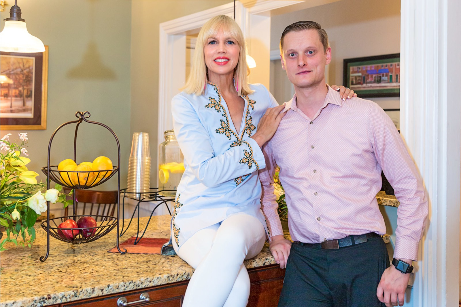 CatherineGraceO Essex Street Inn with Manager Alexander Thompson