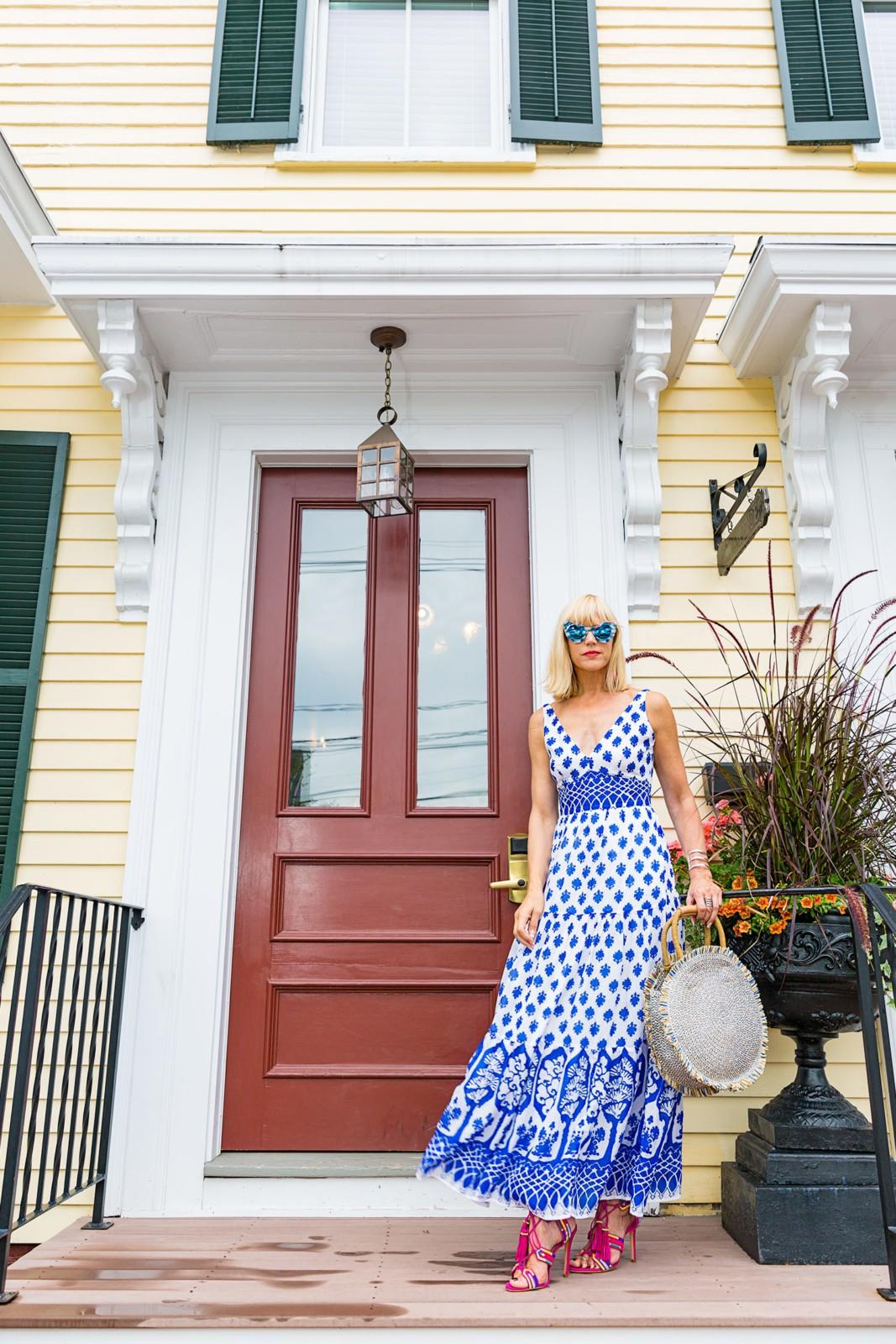 CatherineGraceO Essex Street Inn Front Door Sunnies