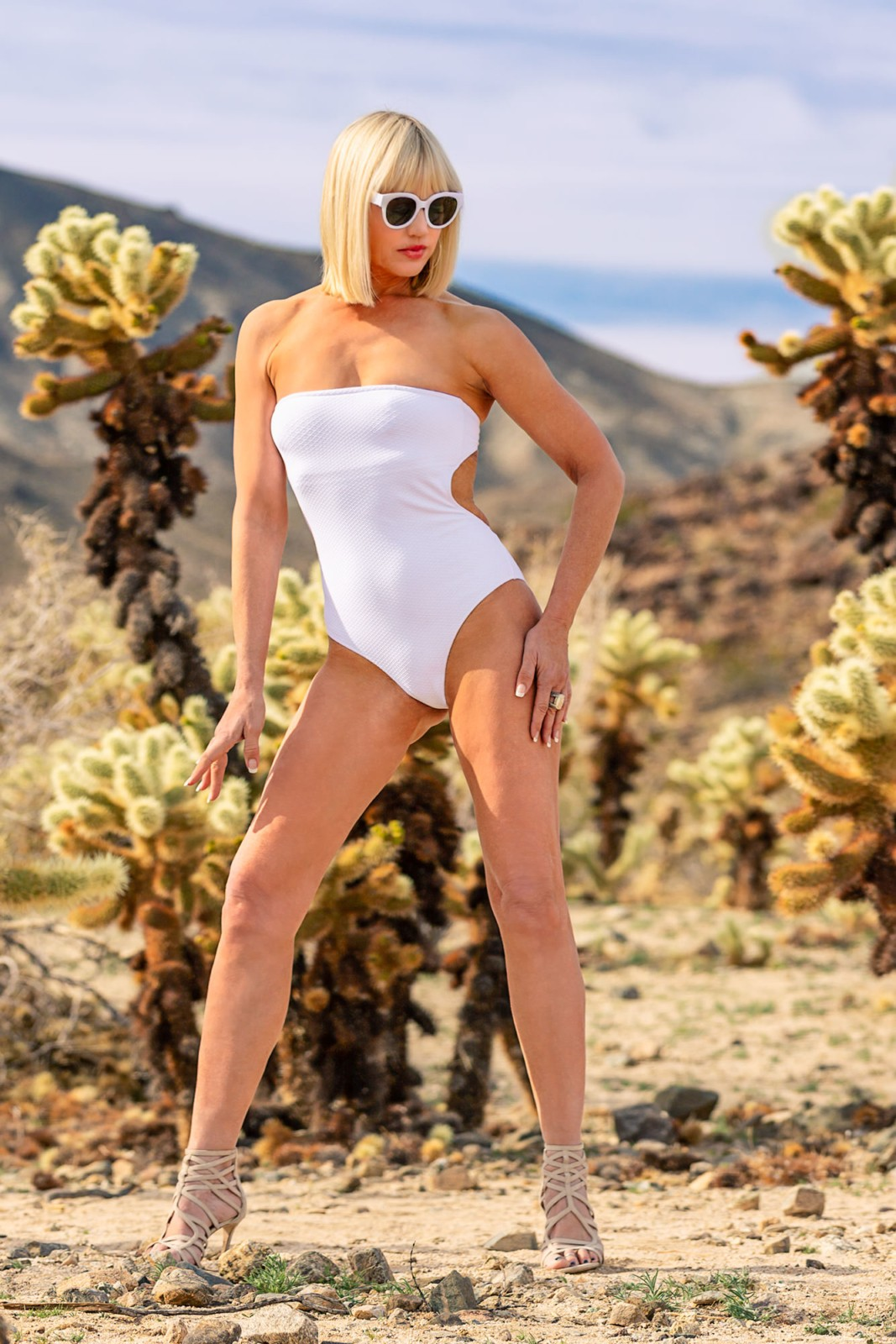 CatherineGraceO Swimsuit in the Desert