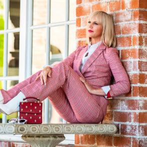 Feature Photo Pink Pantsuit