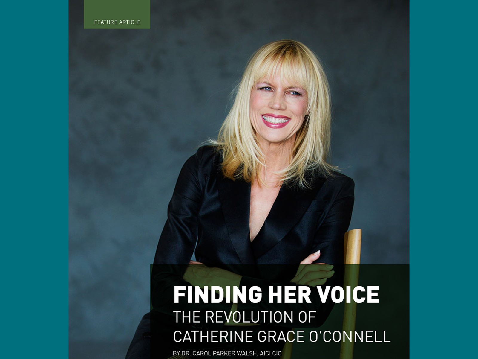 Finding Her Voice: The Revolution of Catherine Grace O'Connell