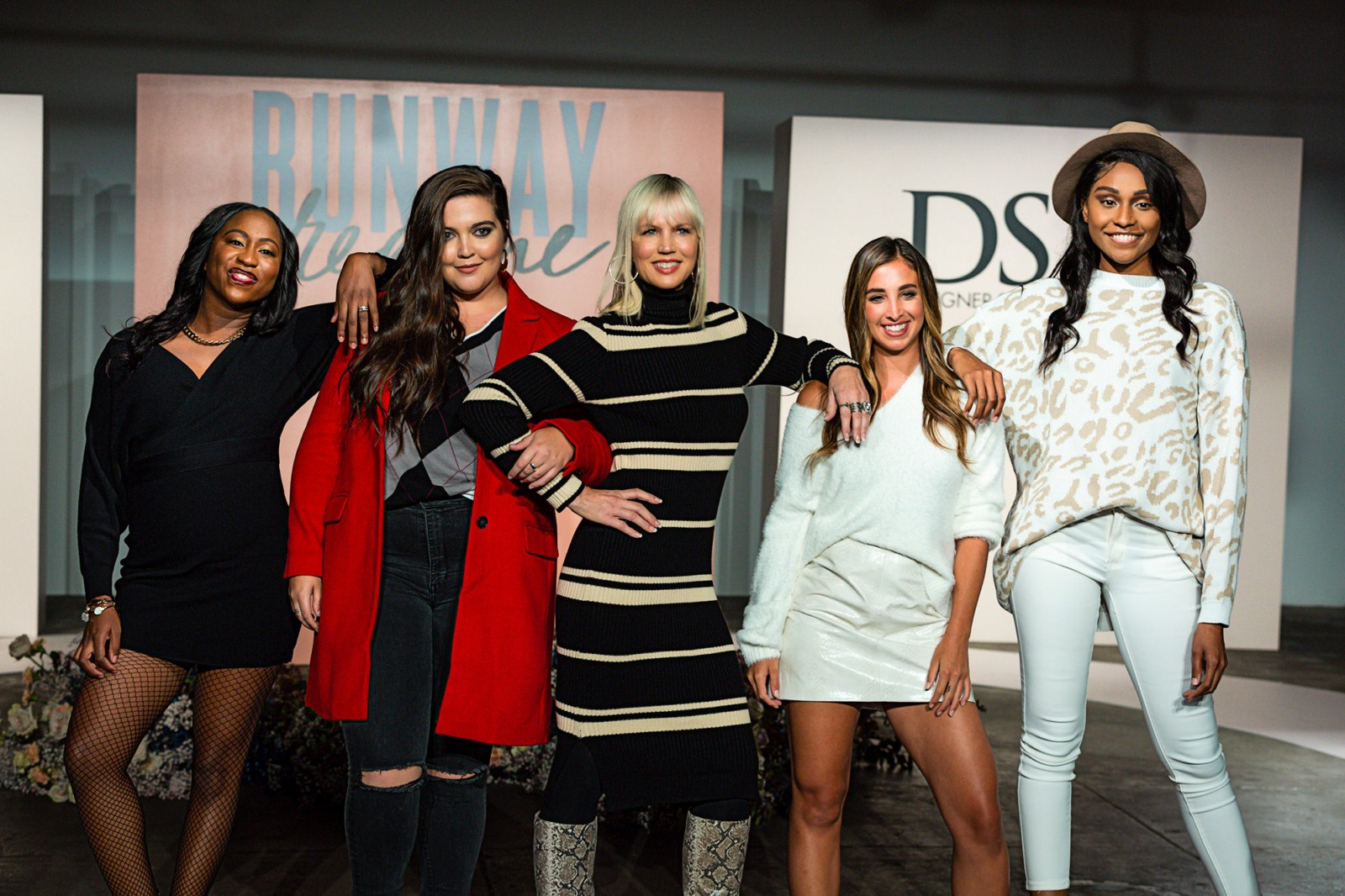 Group shot of the Fashion Show