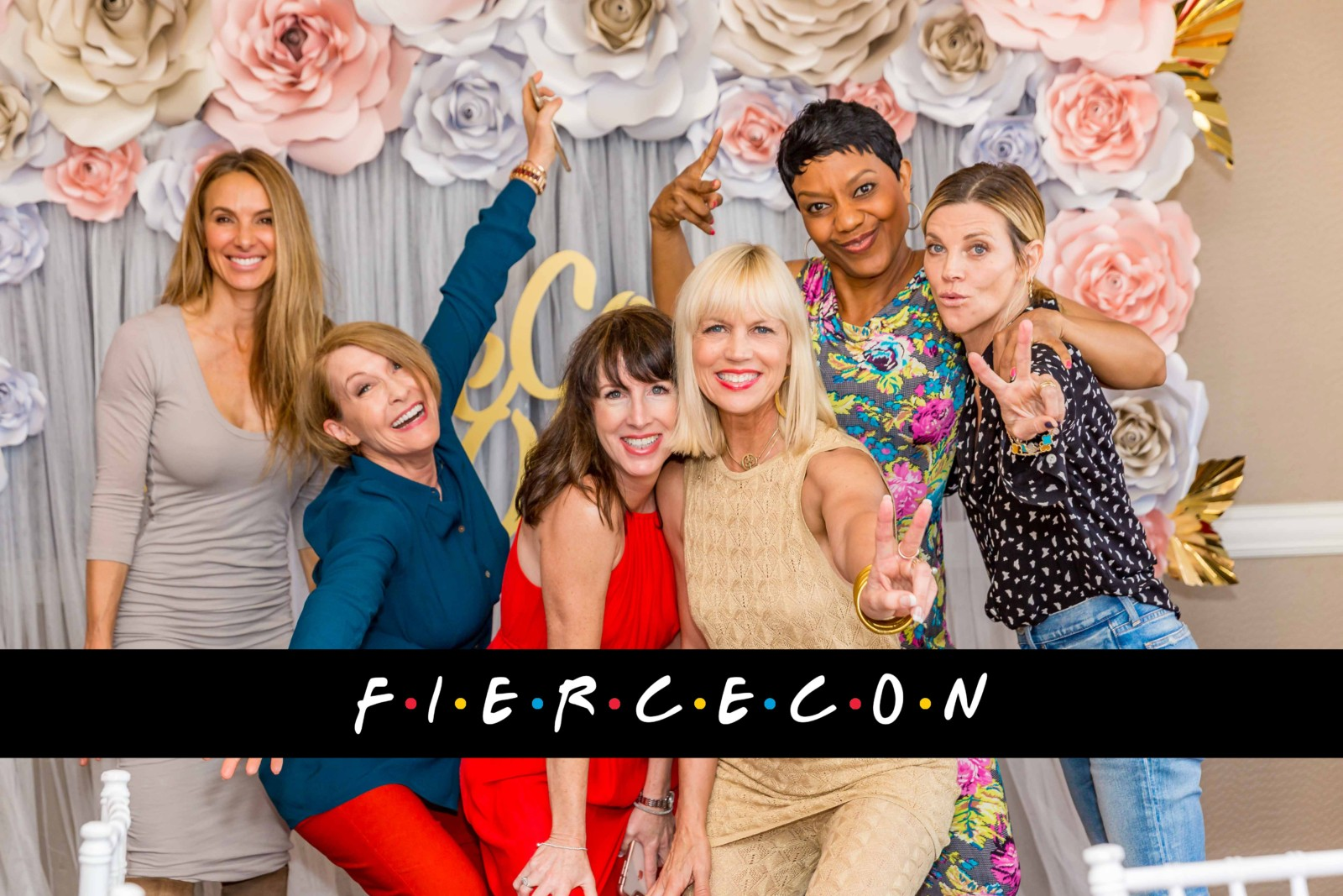 Celebrating FierceCon with Friends