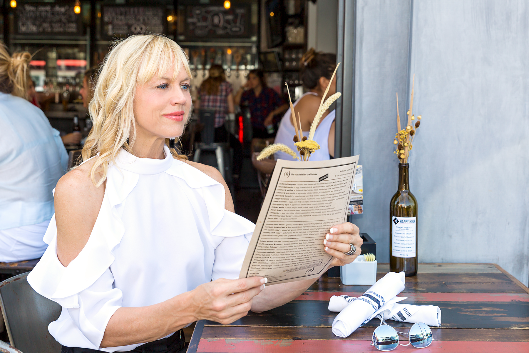 Ordering From the Menu